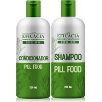 Kit Shampoo + Condicionador Pill Food