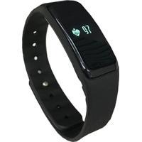Pulseira Smartband Fitness Com Monitor Cardíaco Ss-10 - Unissex