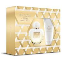 Kit Antonio Banderas Her Golden Secret Edt 80Ml + Body Lotion 75Ml Feminino