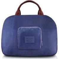 Bolsa Jacki Design De Viagem Dobrável - Unissex-Azul