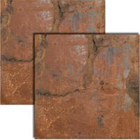 Porcelanato Aço Oxidado Liso Acetinado Retificado 80X80Cm - 8671 - Ceusa - Ceusa
