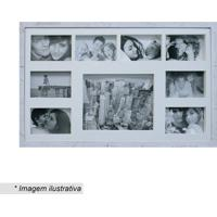 Painel Bee Collection Rustic- Branco- 43X68Cm- Kkapos