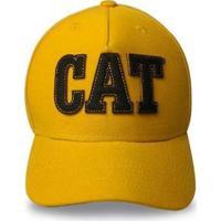 Boné Infantil Eva Caterpillar Cat - Unissex-Amarelo
