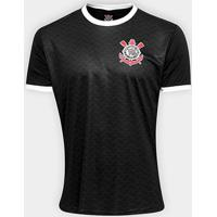 Camisa Corinthians Libertados Masculina - Masculino-Preto