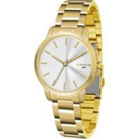 Relógio Feminino Lince Casual Lrg4482L S1Kx - Unissex-Dourado