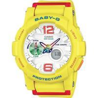 Relógio Casio Baby G G-Lide - Unissex-Amarelo
