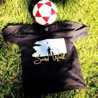 Camisa Futevôlei Sand Walk Preto P