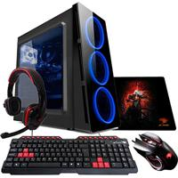 Pc G-Fire Amd A10 9700 8Gb 1Tb Radeon R7 2Gb Integrada Computador Gamer Gkac Htg-284 - Azul