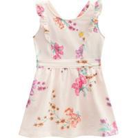Vestido Floral- Rosa Claro & Rosa- Kids- Mundimundi