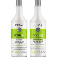 Kit De Shampoo & Condicionador Cicatrifios- 1L- Inoainoar