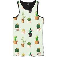 Camiseta Bsc Regata Cacto Full Print - Masculino