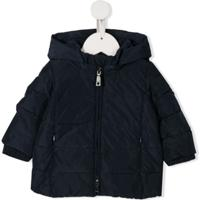 Monnalisa Padded Hooded Jacket - Azul