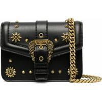 Versace Jeans Couture Bolsa Transversal Couture 1 - Preto