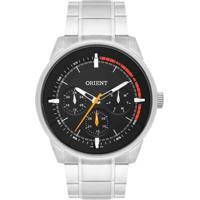 Relógio Orient - Masculino-Prata+Preto