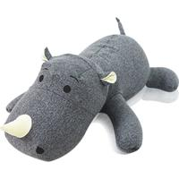 Bichinho Rinoceronte Bob Good Pufes Cinza