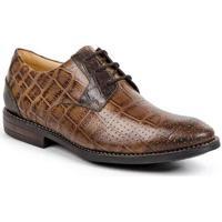 Sapato Masculino Derby Sandro Moscoloni Croco Mart