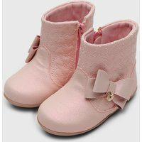 Bota Klin Infantil Mini Miss Rosa