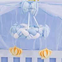 Móbile Menino Príncipe Azul Grão De Gente Azul