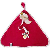 Cobertor Sereia - Vermelho & Branco- 25X37Cm - Zbicho Molhado