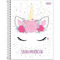 Caderno De Espiral - Capa Dura - Colegial - Blink - Stay Magical - 80 Folhas - Tilibra