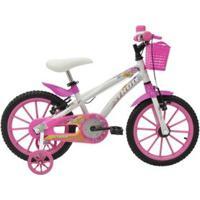 Bicicleta Athor Aro 16 Baby Lux Feminino C/ Kit - Unissex
