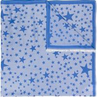 Stella Mccartney Echarpe Estampada - Azul