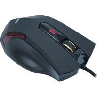 Mouse Óptico Evus Gamer Predador Mg-02 Usb Preto 3.200 Dpi