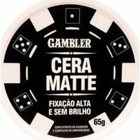 Cera Matte Ata Fixação 65G - Gambler - Masculino-Incolor