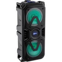 Caixa De Som Amplificada 200W Bluetooth Usb Rádio Fm Lenoxx Ca400 Bivolt