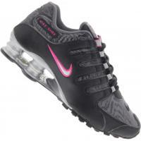3d944a4ad4b Tênis Nike Shox Nz - Feminino - Preto Cinza Esc