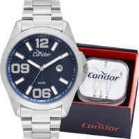 Relógio Condor Masculino Com Fone De Ouvido Co2115Ksy/K3A
