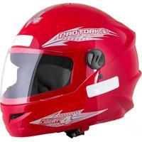 Capacete Moto New Liberty Four 60 Vermelho - Pro Tork