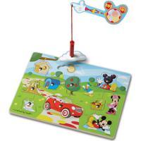 Peças De Encaixe De Madeira Com Imã - Disney - Minnie Mouse - New Toys