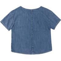 Blusa Hering Lisa Azul