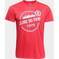 Camiseta Internacional Dry Carimbo Masculina - Masculino