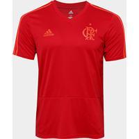 Netshoes  Camisa Flamengo Treino Adidas Masculina - Masculino 14cb23f9ca1fa