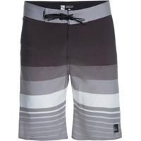 ... Bermuda Quiksilver Boardshort Caliber - Masculino-Cinza+Preto 29c72ae6d721c