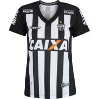 Camisa Do Atlético-Mg I 2018 Topper - Feminina - Preto/Branco