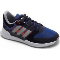 Tênis Adidas Run 90S Feminino - Feminino-Marinho+Azul