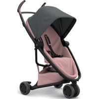 Carrinho De Bebê Zapp Flex Quinny Graphite On Blush #2 Rosa