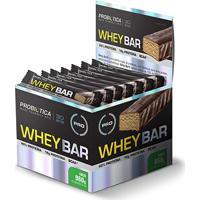 Whey Bar Low Carb C/ 24 Barras - Probiótica - Unissex