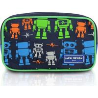 Necessaire Infantil Jacki Design Robô Microfibra Masculino - Masculino