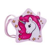 Bolsa Infantil Princesa Pink Bolsa Estrela Glitter - Feminino-Rosa