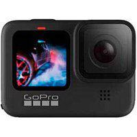 Câmera Gopro Hero9 Black À Prova D Água, Lcd Frontal, Vídeo 5K, Foto 20Mp, Transmissão Ao Vivo Em 1080P, Hypersmooth 3.0