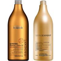 Kit Shampoo E Condicionador L'Oreal Professionnel Nutrifier - Unissex-Incolor
