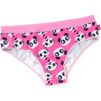Calcinha Boneca Panda- Pink & Azul Marinhopuket