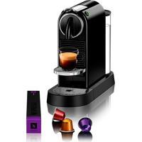 Cafeteira Nespresso Citiz C113, Café Espresso E Lungo, 1L, Preta 220V