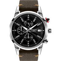 3426af0f667 Relógio Akium Masculino Couro Marrom - Tmg6345N1-Pnp- V2