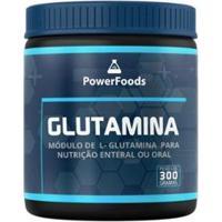Power Glutamina 300Gr Powerfoods - Unissex