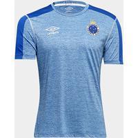 Netshoes  Camisa Cruzeiro 2019 Aquecimento Umbro Masculina - Masculino fea71695ffc9e